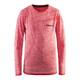 Craft Active Comfort RN LS Shirt Juniors Poppy